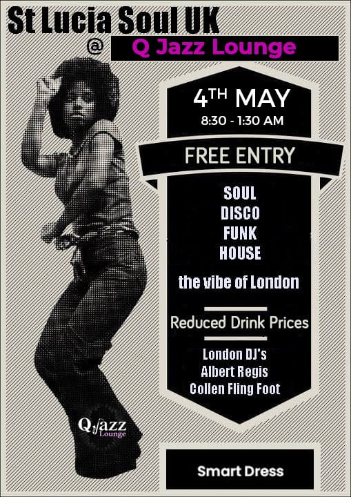 what to do saint lucia St Lucia Soul UK and Q Jazz Lounge present the Vibe of London rodney bay