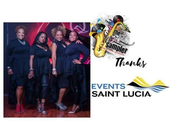 Jazz Sampler 2019 saint lucia jazz festival harbor club superb show featuring local artsts