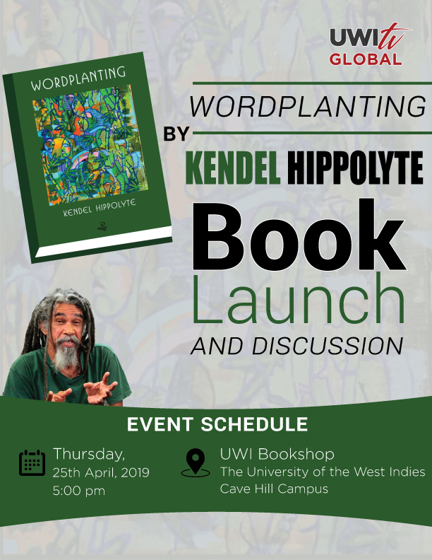 Wordplanting kendel hippolyte book launch barbados