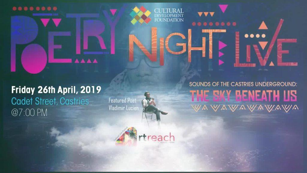 artreach poetry night 2019 featuring Vladimir Lucien