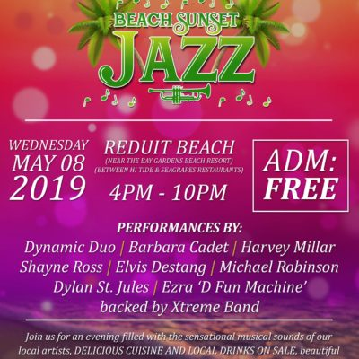 Beach Sunset Jazz FREE event at Bay Gardens