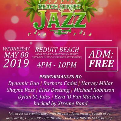 Beach Sunset Jazz FREE event at Bay Gardens