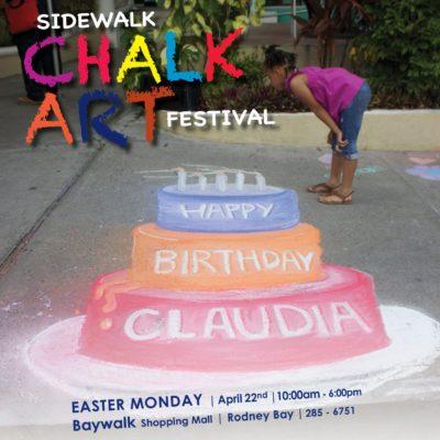 Sidewalk Chalk Art Festival