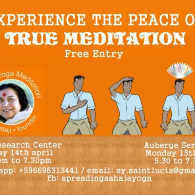 Introduction to Sahaja Yoga as a free meditation experience