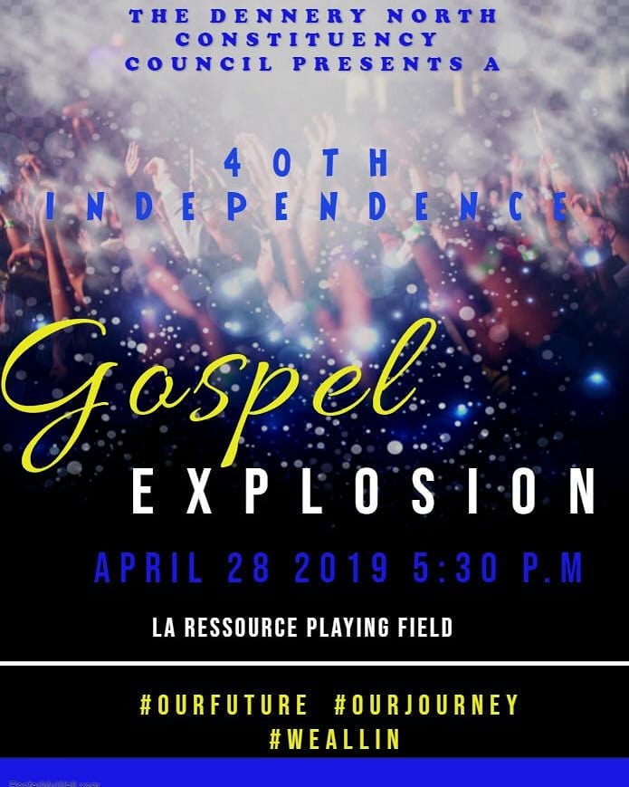 what to do in st lucia praise music worship gospel explosion dennery 40th Anniversary of independence concert
