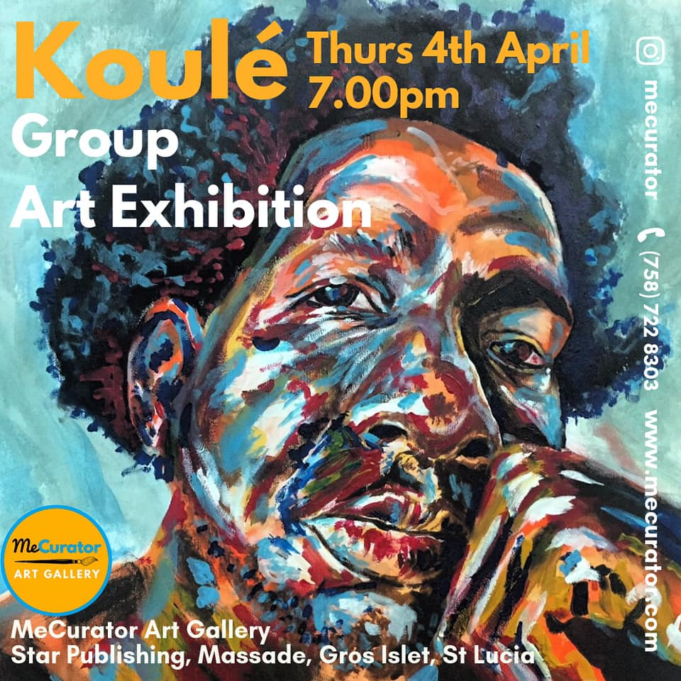 Shopping Saint Lucia - authentic local art koule art exhibition at MeCurator Art Gallery