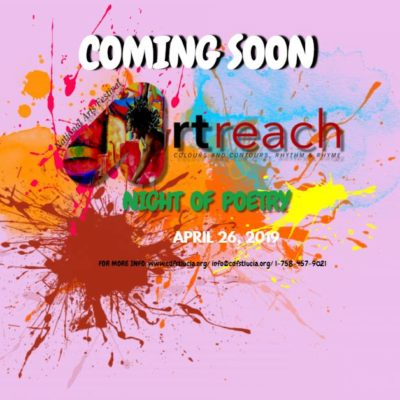 Saint Lucia National Arts Festival – ArtReach 2019: Poetry Night