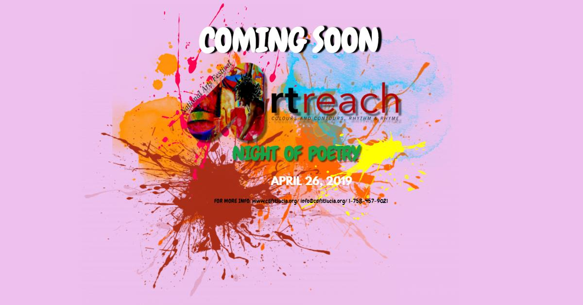 an open air evening of poetry, spoken word, and more st lucia national arts festival artreach 2019 poetry night