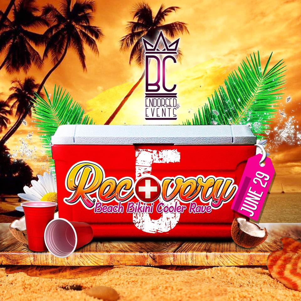 Recovery 2k19 The 5th Edition Of The Ultimate Beach Bikini Cooler Rave