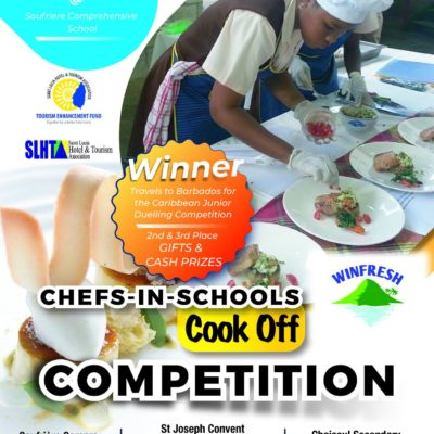 slhta winfresh chefs in schools competition - saint lucia has an emerging young culinary scene with young chefs creating new twists on traditional foods