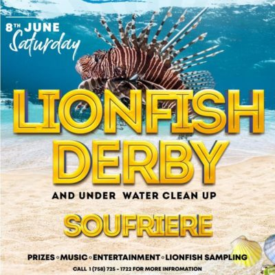 World Oceans Day Saint Lucia – Lionfish Derby and Underwater Clean-Up