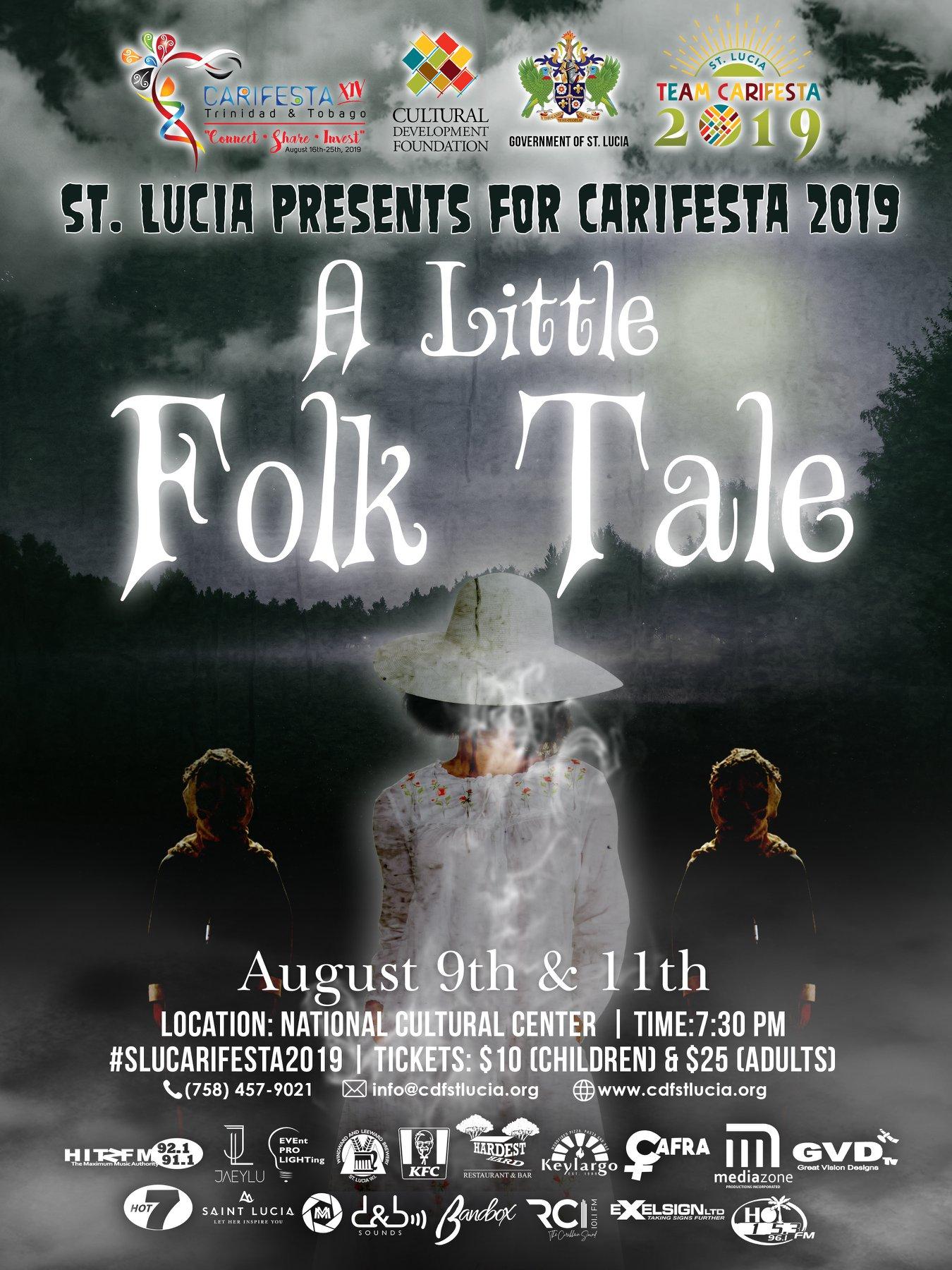 what to do in st lucia theatre A little folk tale saint lucia's carifesta presentation