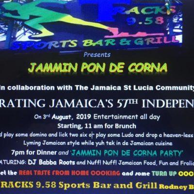 Jamming pin de Corna Jamaica 57thAnniversary of Independence Celebration
