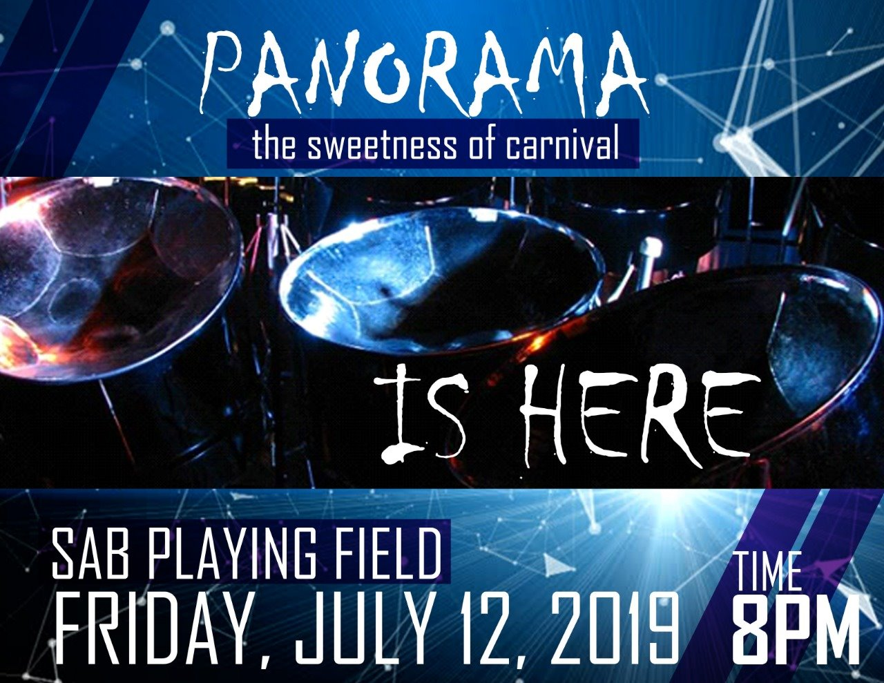 The St Lucia National Steel bands association presnts Panorama Saint Lucia Carnival 2019