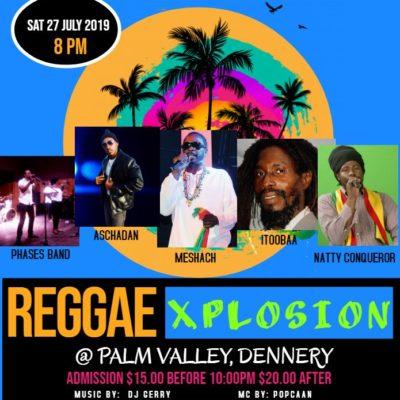 Reggae Xplosion in Palm Valley Dennery