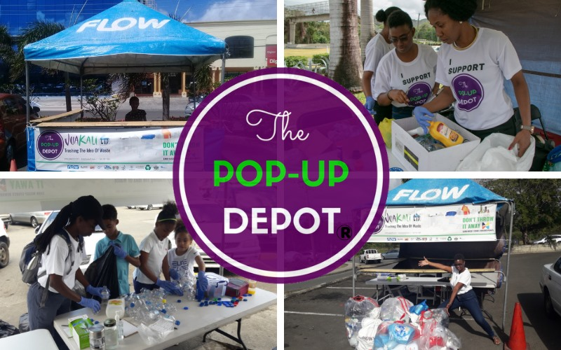jua kali popup depot - recycle your waste plastics glass and tins