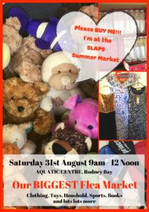 Flea Market shopping saint lucia animal protection society fundraising events