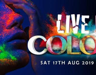 Live in Colour midnight to morning at Pigeon Island