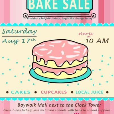 Rotaract Club of Gros Islet Fundraising Cake Sale