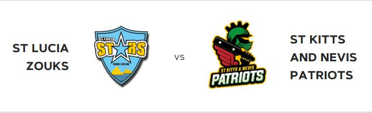 On the 24th see zouks vs st kitts and nevis patriots at daren sammy national cricket stadium st lucia