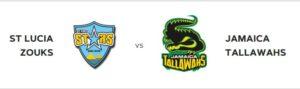 on 27th see Saint Lucia Zouks vs Jamaica Tallawahs at the daren sammy national cricket stadium st lucia