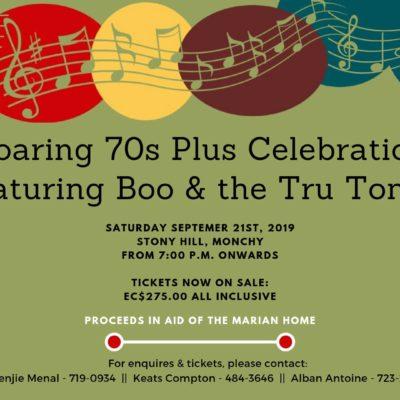 Roaring 70s Plus Celebration featuring Boo & the Tru Tones