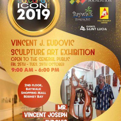 Cultural Icon Series – Vincent J Eudovic Sculpture Exhibition