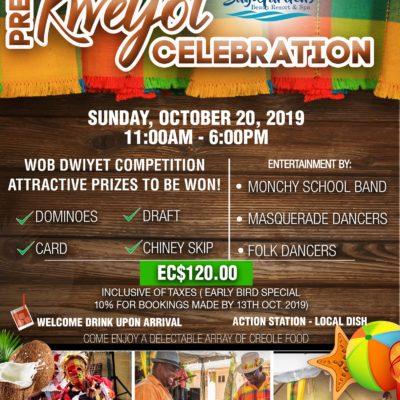 Pre Jounen Kweyol celebration at Bay Gardens