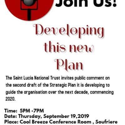 SLNT Strategic Plan Roadshow – 2nd stop Soufriere!