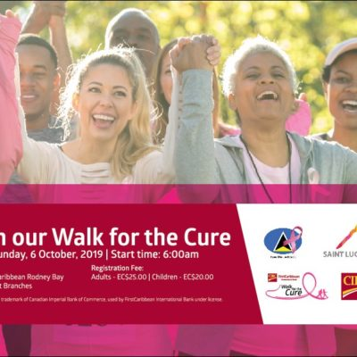 Walk for the Cure Saint Lucia