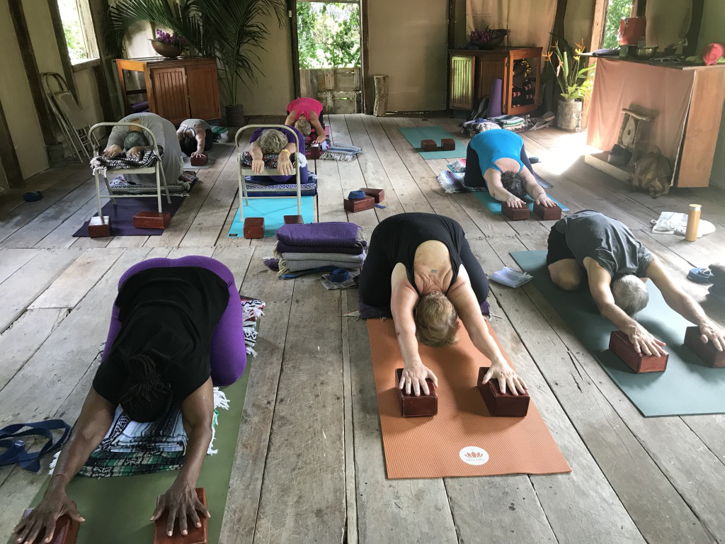 Yoga Retreat at boutique hotel balenbouche estate saint lucia
