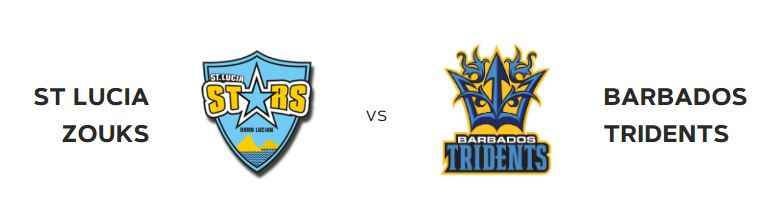 friday 20th st lucia zouks vs barbados tridents at the daren sammy cricket ground saint lucai