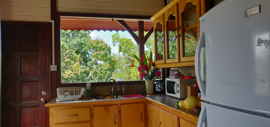 best rustic accommodation in saint lucia family nature instagram views anne's retreat anse la raye