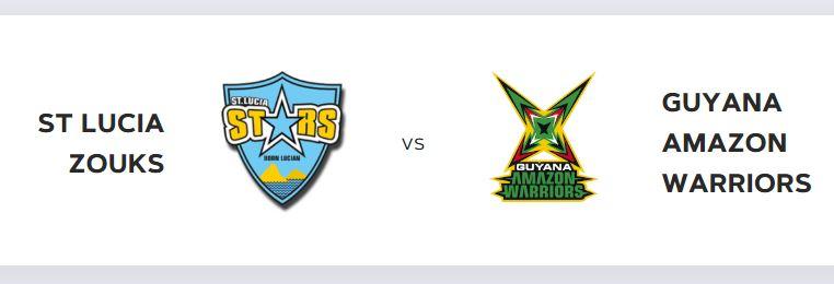 at the daren sammy cricket ground cpl t20 match st lucia zouks vs guyana amazon warriors on 25th