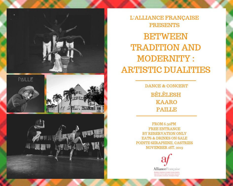 Between tradition and modernity artistic dualities dance and concert at alliance francaise pointe seraphine