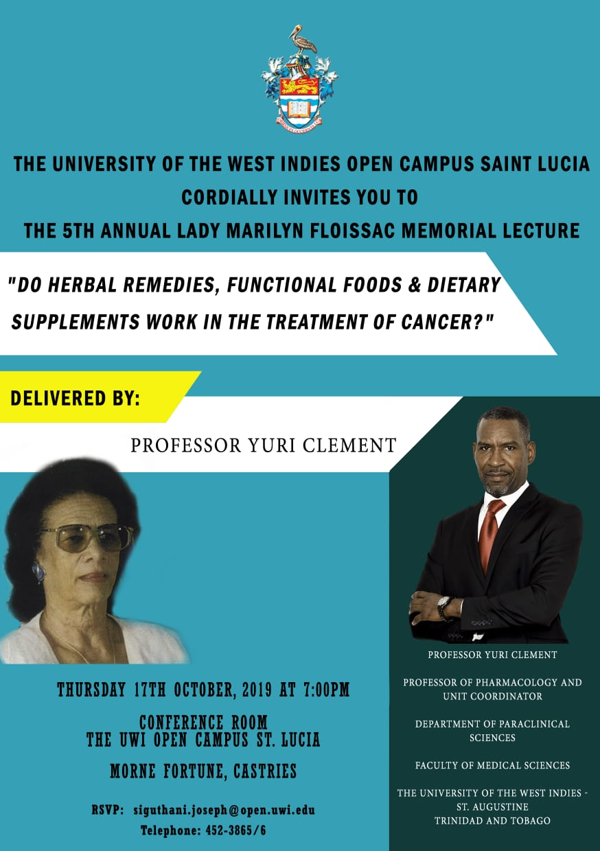 UWI Open Campus Lady Marilyn Floissac Memorial lecture