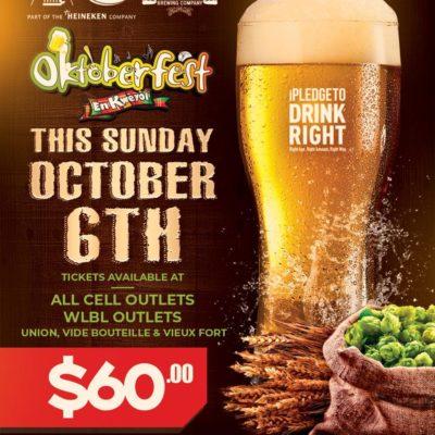 Oktoberfest en Kweyol at Pigeon Island featuring Krosfyah and DYP