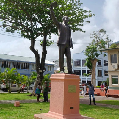 Statues & Public Sculpture around Saint Lucia – a guide