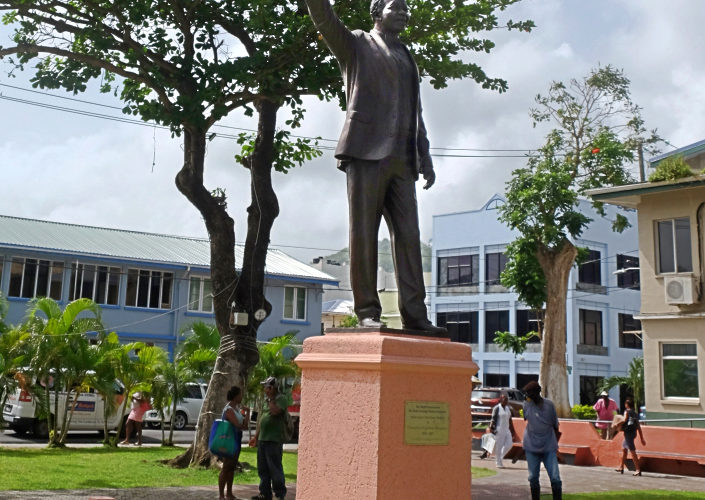 Statues & Public Sculpture around Saint Lucia – a guide