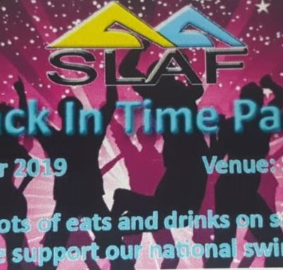 Back in Time Fete – fundraising for the National Swim Team