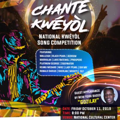 Chanté Kwéyòl – National Kwéyòl Song Competition