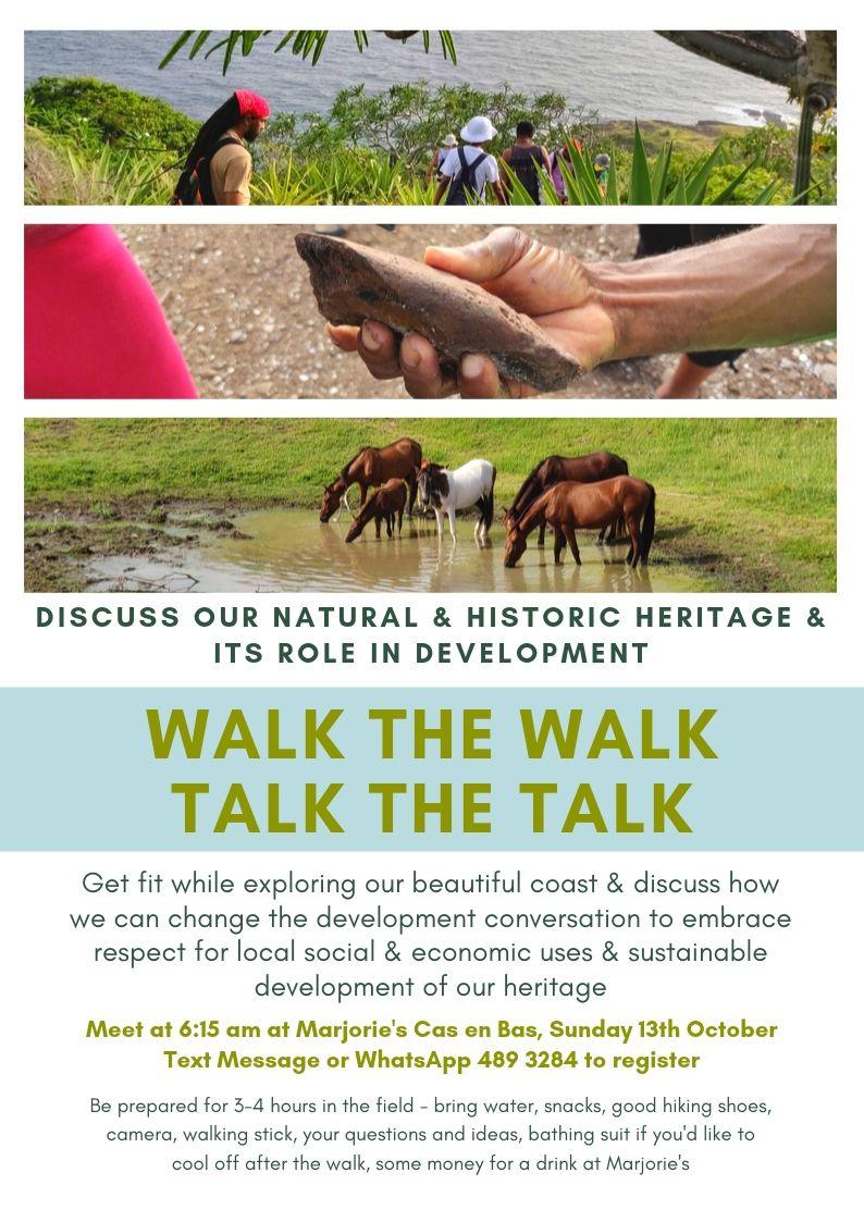 walk the walk, talk the talk advocacy heritage walk and discussion
