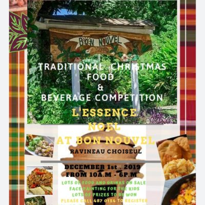 Bon Nouvel Traditional Christmas Treat and Beverage Competition
