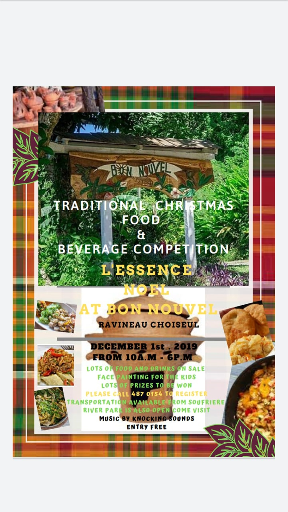 traditional Christmas treat and beverage competition