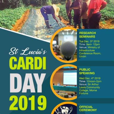 St Lucia's CARDI- Day 2019 – Public Speaking Competition