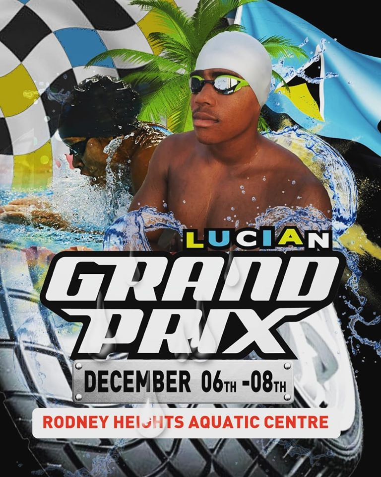 opening ceremony of the Lucian Grand Prix of swimming rodney heights aquatic centre