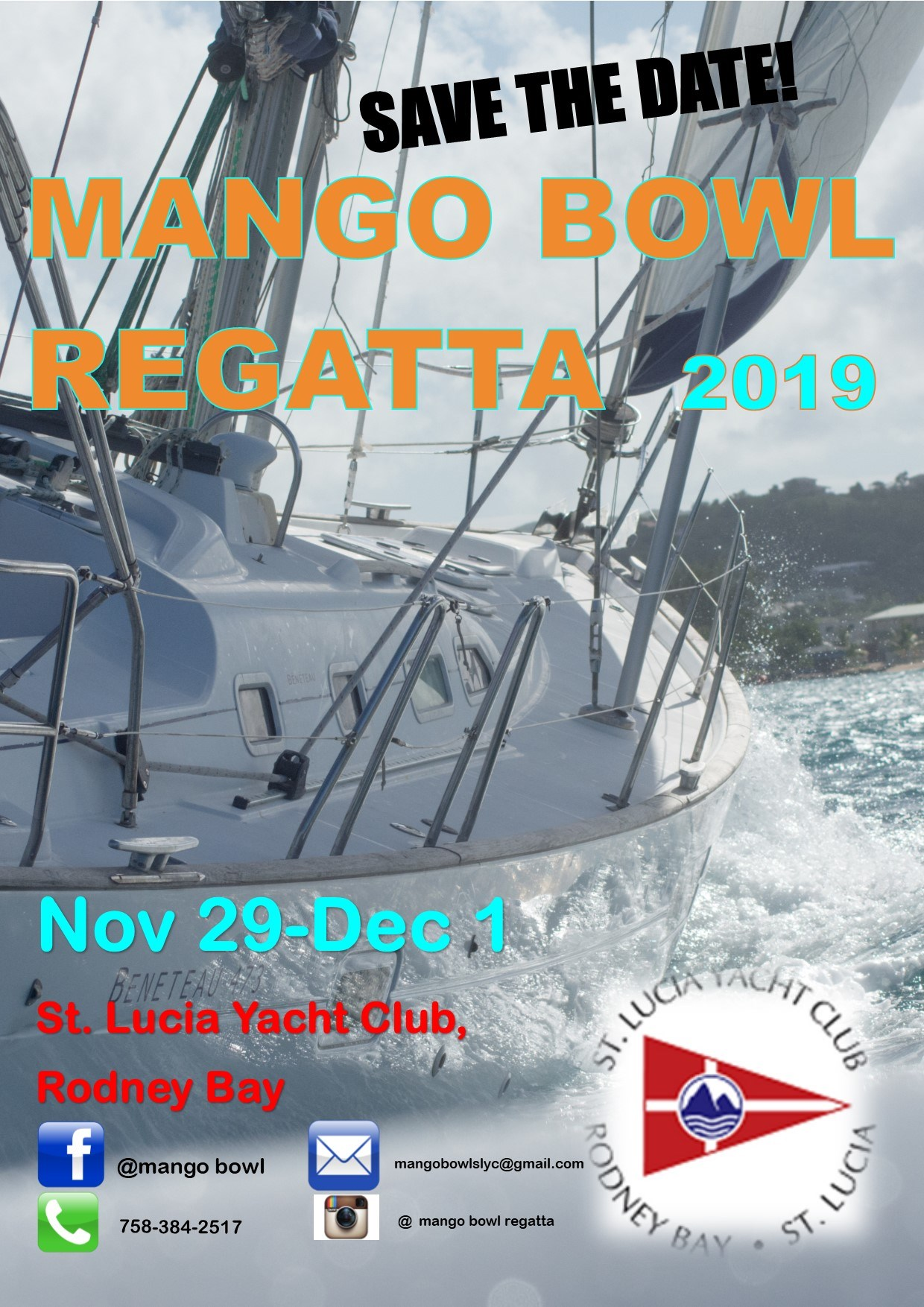 Mango Bowl Regatta 2019 at Saint Lucia Yacht Club sports events yachting race in saint lucia