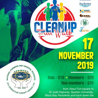 Clean-Up Walk – National Farmers & General Workers Credit Union