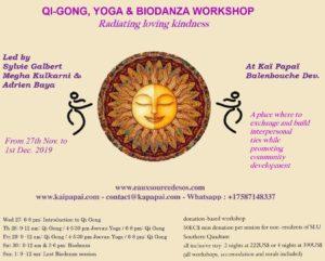 Qi-Gong, Yoga & biodanza Workshop Radiating Loving Kindness at Kai Papaii, Choiseul