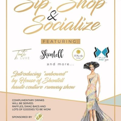 """Sip Shop and Socialise at Lushe Bar – debuting """"Unbowed"""" by Shontell"""